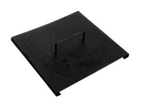 Кованая крышка для урны прямая