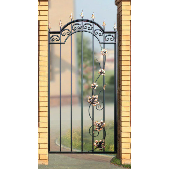 Калитка «Дачная» арочная с лозой