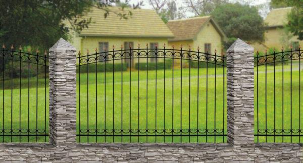Забор металлический ОСАТ 15-02