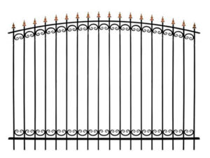 Забор металлический ОСАТ 15-02 (В-140)