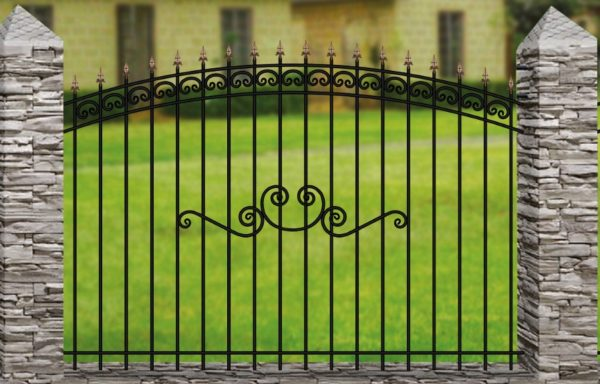 Забор металлический ОСАТ 15-15-51
