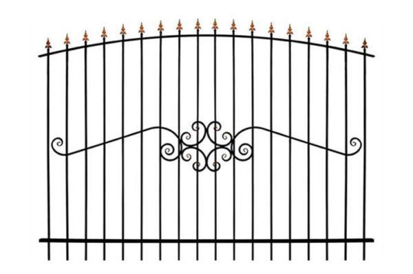 Забор металлический ОСАТ 15-50 (В-140)
