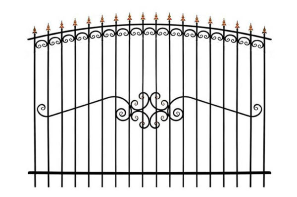Забор металлический ОСАТ 15-51 (В-140)