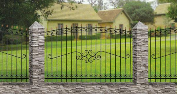 Забор металлический ОСАТ 15-52