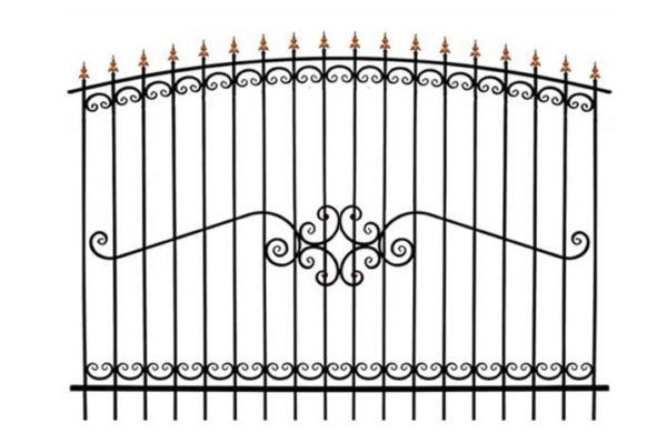 Забор металлический ОСАТ 15-52 (В-140)