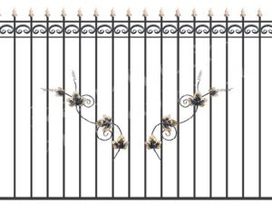 Забор металлический ОСТ 15-01 (ЛОЗА)