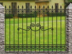 Забор металлический ОСТ 15-15-52