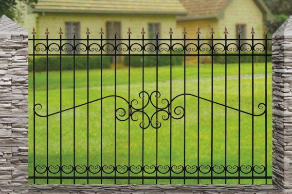 Забор металлический ОСТ 15-52