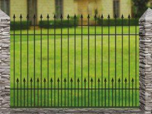 Забор металлический кованый «Basic #11»