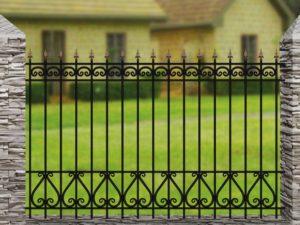 Забор металлический кованый «Basic #12»