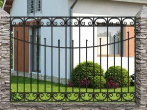 Забор металлический кованый «Basic #18»