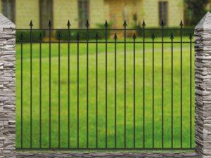 Забор металлический кованый «Basic #3»