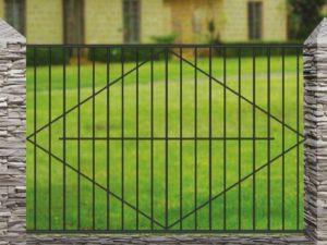 Забор металлический кованый «Basic #4»
