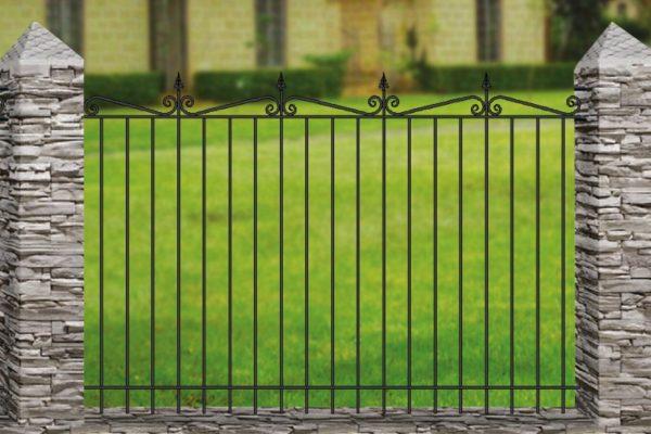 Забор металлический кованый «Basic #5»