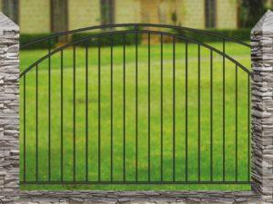 Забор металлический кованый «Basic #6»