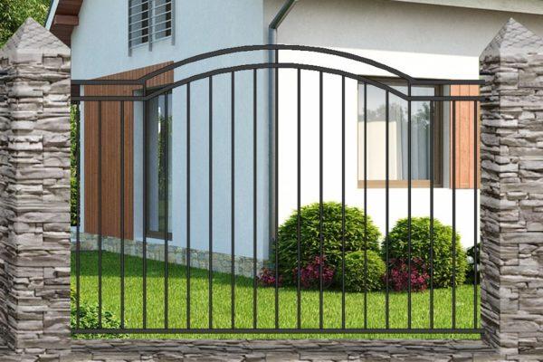 Забор металлический кованый «Basic #7»