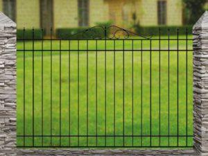 Забор металлический кованый «Basic #8» (ОСТ 15-25-01)