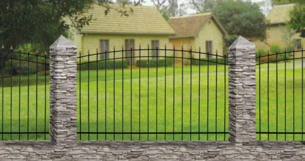 Забор металлический ОСАТ 15-00