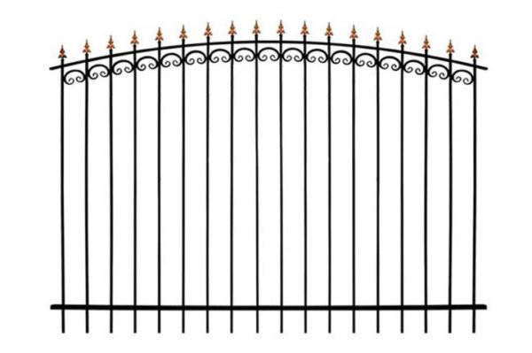 Забор металлический ОСАТ 15-01 (В-140)