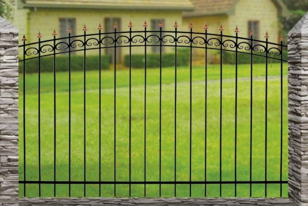 Забор металлический ОСАТ 15-01