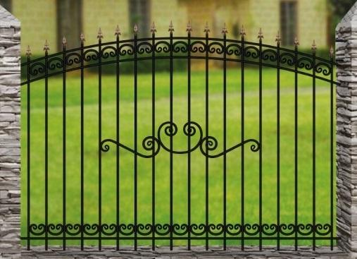 Забор металлический ОСАТ 15-15-52