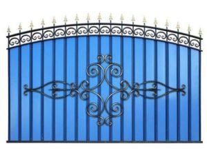 Забор металлический ОСАТ «Олимпия» МПА