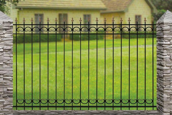 Забор металлический ОСТ 15-02