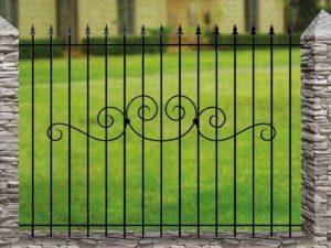 Забор металлический ОСТ 15-15-50