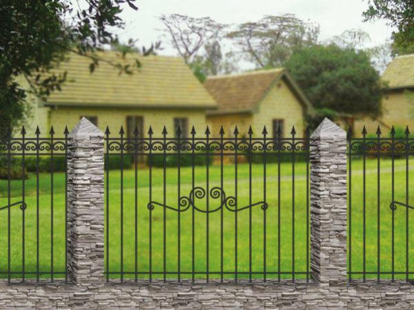 Забор металлический ОСТ 15-15-51
