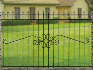 Забор металлический ОСТ 15-50