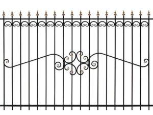 Забор металлический ОСТ 15-51 (В-140)