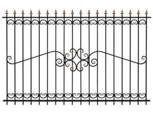 Забор металлический ОСТ 15-52 (В-140)
