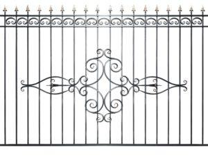 Забор металлический ОСТ «Олимпия»
