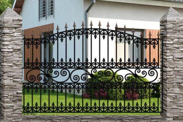 Забор металлический кованый «Premium #1»