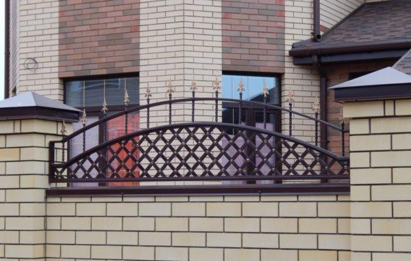 Забор металлический кованый «Premium #2»