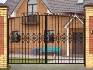 Ворота «Узор» эконом