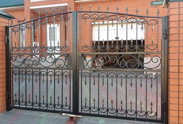 Ворота «Ажурные» премиум