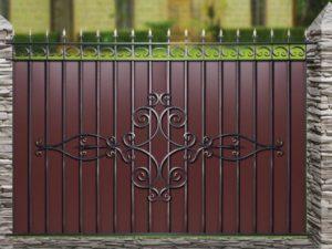 Забор металлический ОСТ «Олимпия» МП