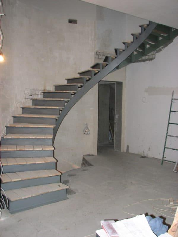 Лестница металлическая ВРл-10