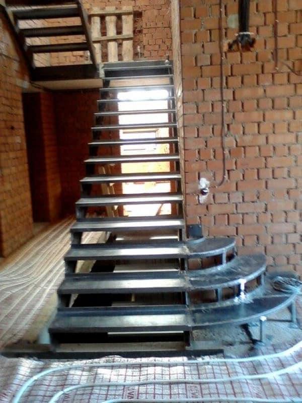 Лестница металлическая ВРл-09