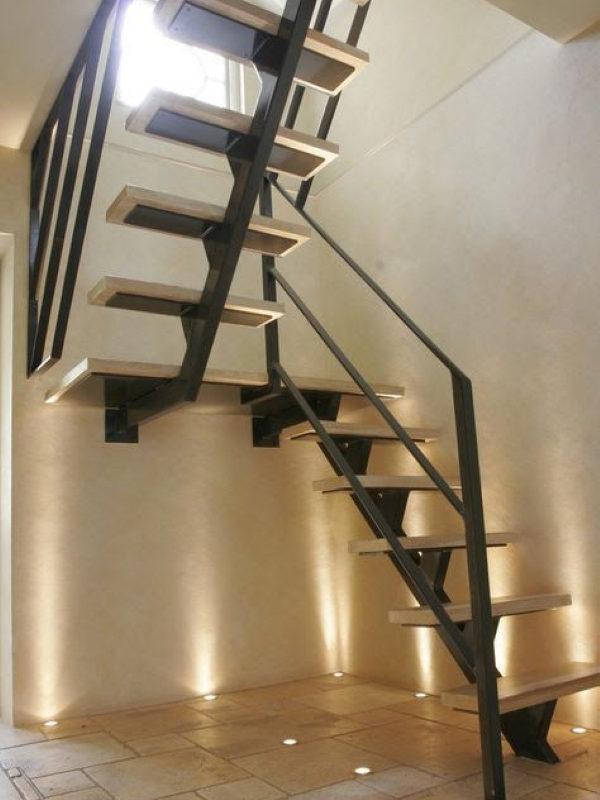 Лестница металлическая ВРл-04