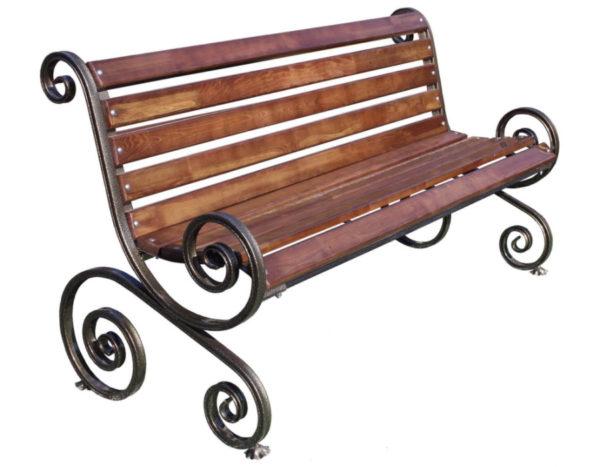 Скамейка «Вензель»