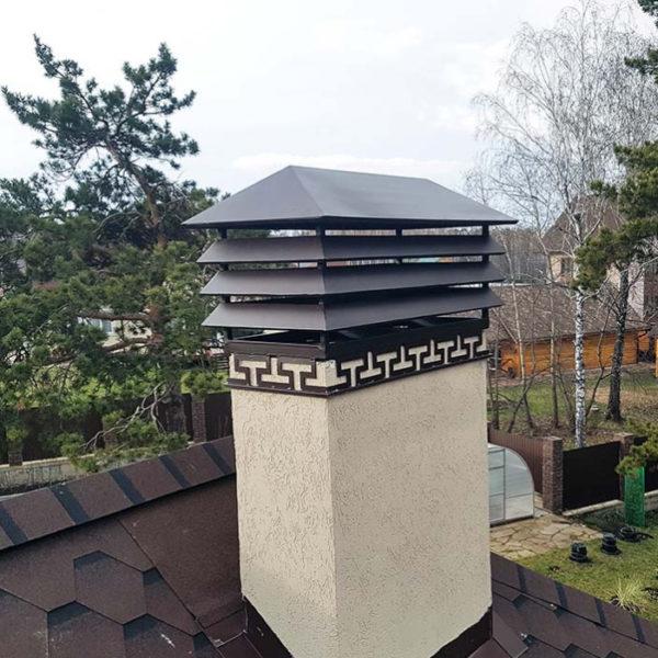 Колпак на дымоход (дымник) «Стокгольм»